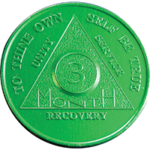 AA 3 Month Coin